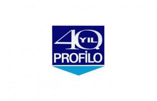 PROFİLO A.Ş. 40. Yıl Logosu